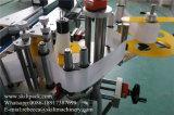 Máquina de etiquetas dobro adesiva dos lados da parte dianteira e da parte traseira da etiqueta