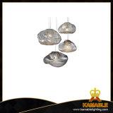 Освещение декоративного шикарного стеклянного канделябра лоббиа гостиницы привесное (9869P)
