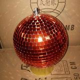 Esfera do espelho do disco do partido do estágio do Natal