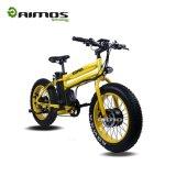 bici grassa di 350W E con la forcella della sospensione