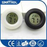 Termómetro circular colorido de empaquetado de la humedad de la temperatura de Digitaces