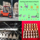 Картонная упаковка бумаги машины литьевого формования мякоти мякоть поддон для яиц бумагоделательной машины