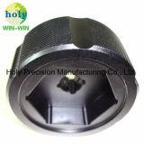 Moto CNC parte toma de la rueda de la tuerca con la Herramienta de torneado CNC