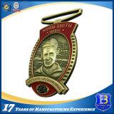 Medaglia antica competitiva del premio del metallo di sport del pezzo fuso dell'oro di prezzi 3D per la promozione del ricordo