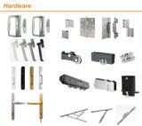 Piegatura moderna del hardware del portello di alluminio di colore del metallo aperta