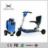 Motorino pieghevole elettrico della batteria di litio della rotella di prezzi di fabbrica tre mini per l'adulto/femmina/Elder