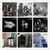 Tubo consolidado/Sisic/Rbsic de la radiación del carburo de silicio de la reacción refractaria