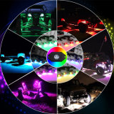 Супер яркий Multi цвет изменяя свет утеса RGB СИД 4 стручков