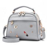 De aangepaste Handtas van het Leer van de Meisjes Pu van Dame Shoulder Small Handtas