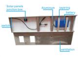 indicatore luminoso di via solare 30W con il regolatore e la batteria del comitato solare