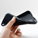 для волокна углерода случая IMD iPhone x картины оплетки горячего деревянной, крышка картины Weave передвижная на iPhone x 7 7plus 6s