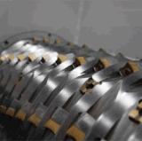 Пластмасса PP/PE твердая Shredding и система Pelletizing
