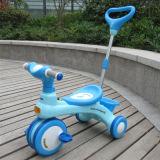 Il triciclo di bambini di plastica semplice scherza il triciclo del bambino con indicatore luminoso e musica