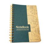 Nuevo cuaderno espiral Softcover modificado para requisitos particulares de la impresión en offset del diseño