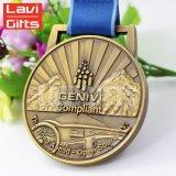 Hot Sale Sport de gros Prix Médaille métal moulé sous pression, la gravure à la conception personnalisée