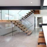 ステンレス鋼のガラス屋内ステアケース