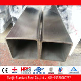 AISI 201 Ss Square / rectangular Pipe cepillado