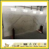 Nouvelle dalle de quartz transparent Calacatta artificielle pour cuisine/salle de bains avec carrelage mural/de/Blanc/gris/noir/or/Rusty/jaune/marron/rose de couleurs