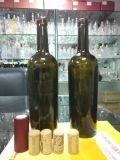 in Fles van het Glas van de Rode Wijn 750ml van de Voorraad 500ml de Lege