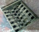 Grosse Plastikladeplatten-Doppelwelle-Reißwolf für Öl-Behälter