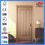 Portello di legno di alluminio della melammina dell'entrata esterna vuota (JHK-MD11)