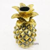 Ananas Handmade dell'oro della resina della scultura della frutta da vendere