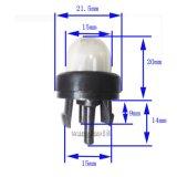 L'apprêt des ampoules de l'essence de la pompe de scie à chaîne
