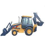 Mini Tractor met de Lader van het VoorEind en Backhoe voor Verkoop