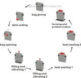 米および食糧袋の回転式パッキング機械