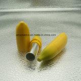 Contenitore speciale del balsamo del &Lip del rossetto di figura della banana di disegno