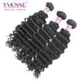 Estensione profonda peruviana all'ingrosso dei capelli umani dell'onda 100% di Yvonne