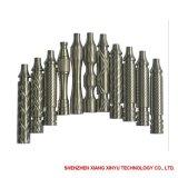 Aluminium/Messing, der CNC-Teile aufbereitend anodisiert