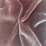 Высокое качество бархатной ткани для одежды.