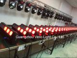 Luz sostenida de DJ de la barra principal móvil de la viga de Vello LED (lámina T5 4in1 del alma)