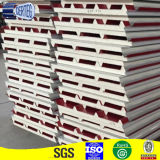 Pannelli a sandwich d'acciaio colorati del poliuretano dell'unità di elaborazione per il tetto
