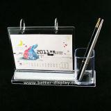Kundenspezifische Qualitäts-Acrylfeder-Ausstellungsstand