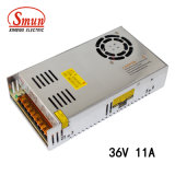 Smun S-400-36 400W 36V 11A AC-DC는 출력 전력 공급을 골라낸다