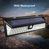 54 Sensor de Movimento Solar LED luzes de parede exterior à prova de luz movidos a energia solar para fora com 3 modos inteligentes
