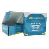 Caja de zapatos de papel ondulado impresión personalizada de embalaje