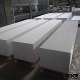 superficie solida acrilica modificata bianca del comitato di parete di 12mm