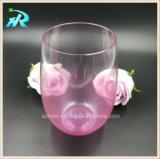 caneca plástica do vinho do casamento do copo da sobremesa de 450ml 16oz