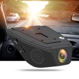 Came dupla do traço da câmera do carro da caixa negra do carro DVR da lente com a câmera Dashcam do traço do carro do GPS