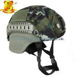 Tipo militar capacete balístico tático material de Mich 2000 de Kevlar com tampa