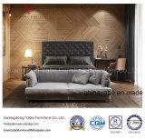 Мебель спальни гостиницы темного цвета с деревянным обеспечивая комплектом (YB-WS21-1)