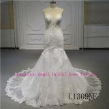 В шею Русалки высокое качество свадебные платья