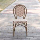 무방비 알루미늄 프랑스 작은 술집 등나무 다방 의자 (SP-OC519)