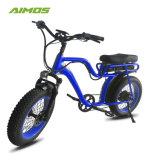 """常州Aimosのアルミ合金フレームの熱い販売20の"""" *4.0脂肪質のタイヤの電気バイク"""