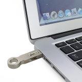 El palillo androide impermeable del USB del mecanismo impulsor 64GB de la pluma del metal OTG graba
