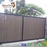 Puerta de desplazamiento automática modificada para requisitos particulares de la cerca con el marco de aluminio