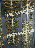 Máquina sanitaria del laminado de la capa del cromo del vacío del grifo plástico de cobre amarillo PVD de Zamak